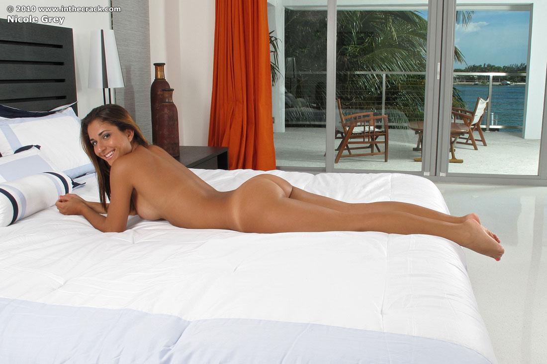 Nicole grey nude spread