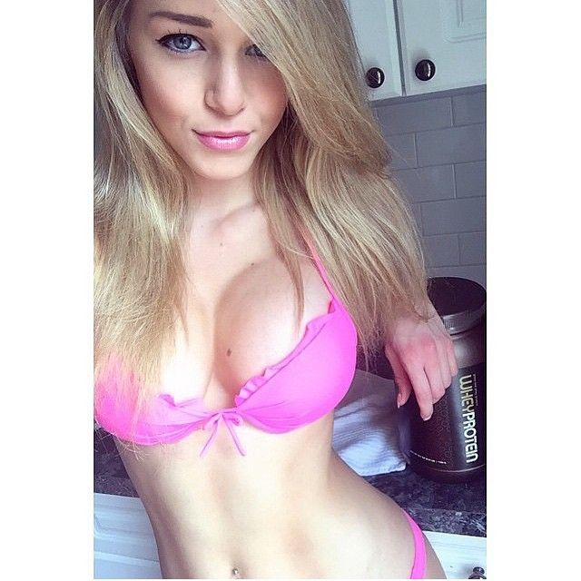 French blonde teen