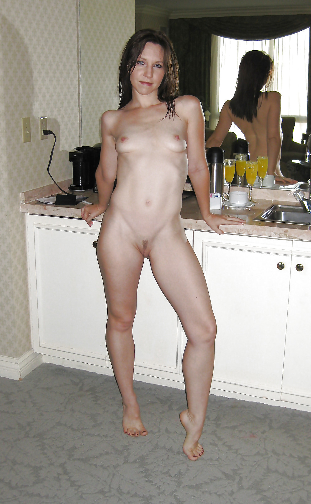 Tumblr voyeur naked wife in kitchen