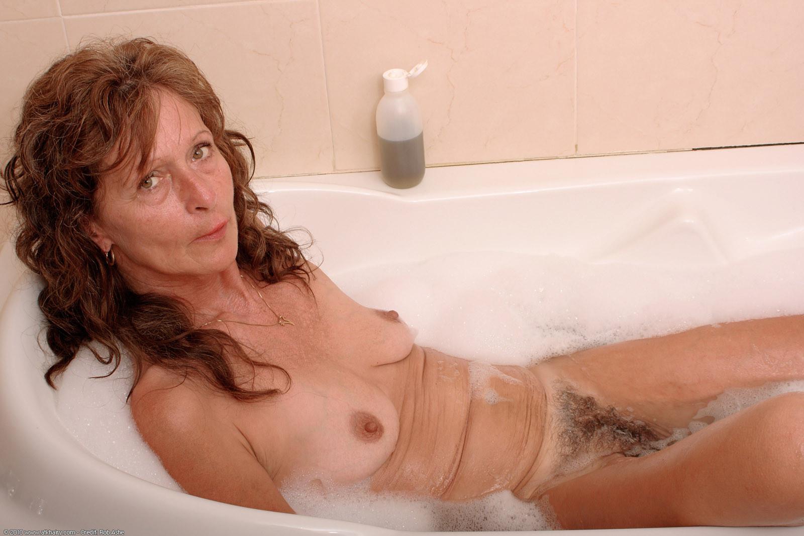 Nude skinny hairy mature women