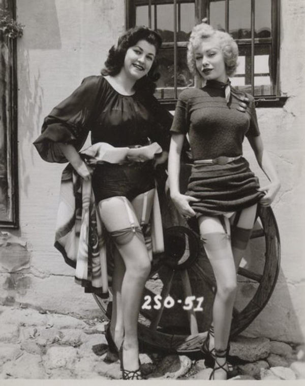 public flashing Vintage
