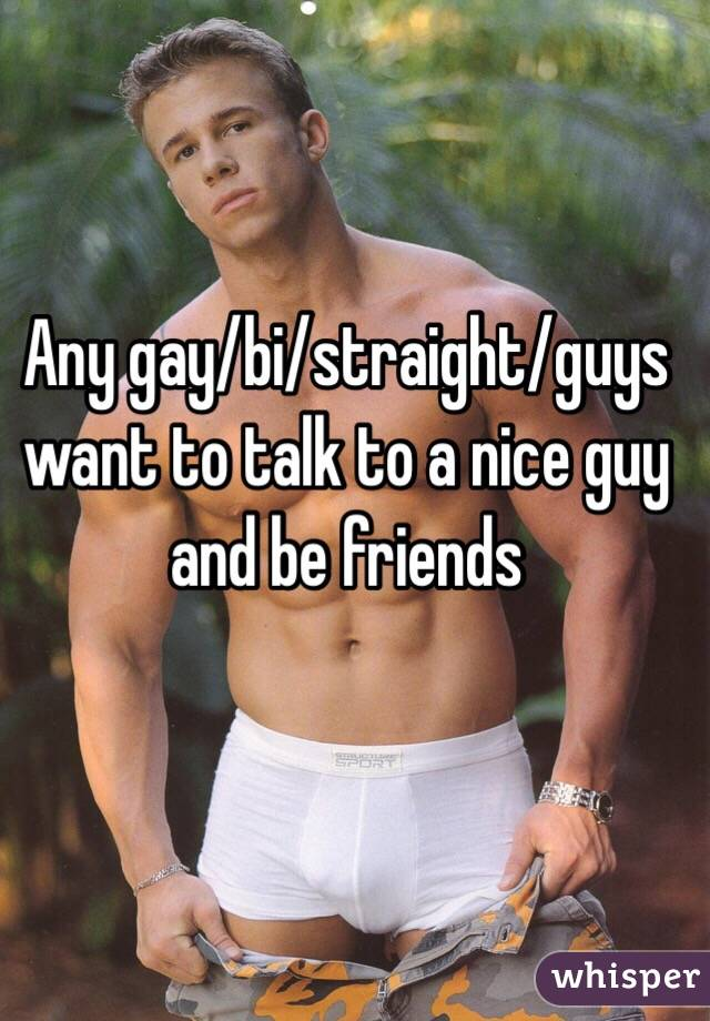 Straight guys gay