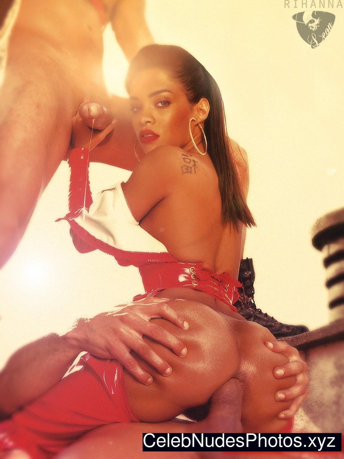 Rihanna fake porno photo ready help