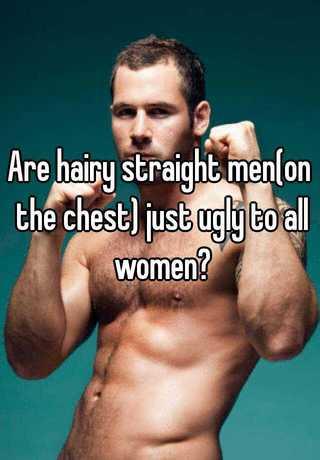 Hairy straight men