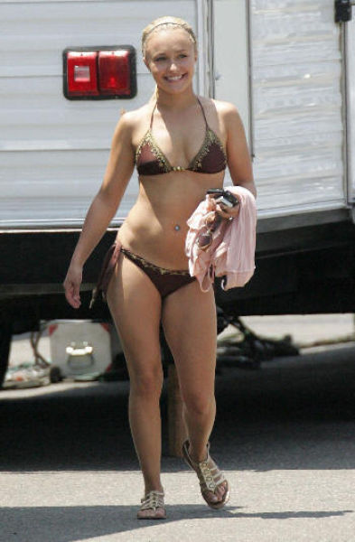 Weird tits ugly girl