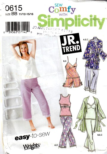 Junior shorts sewing patterns