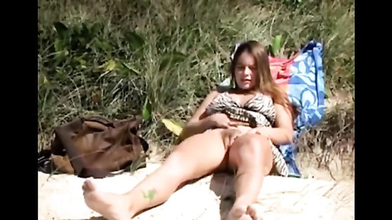 Girls masturbating in nude beaches