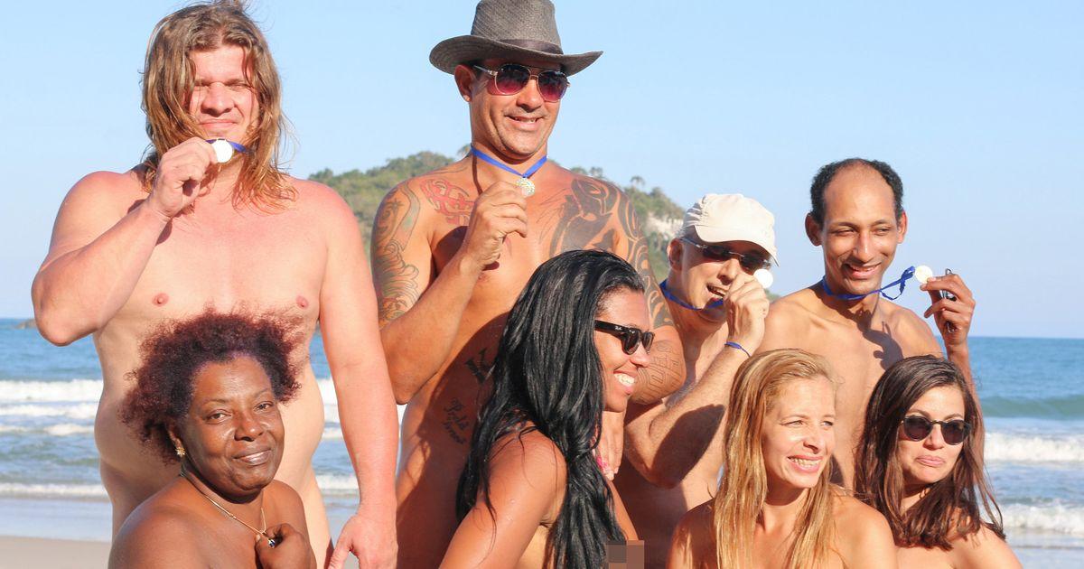 Nude olympics naked