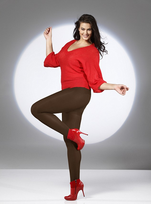 Plus size teen models pantyhose
