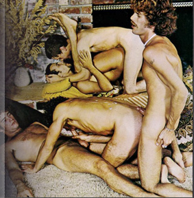 Vintage gay porn anal