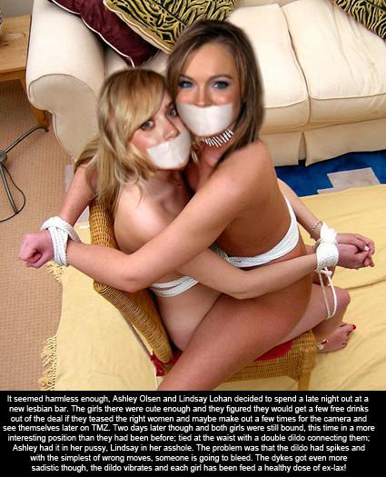 Lesbian humiliation captions