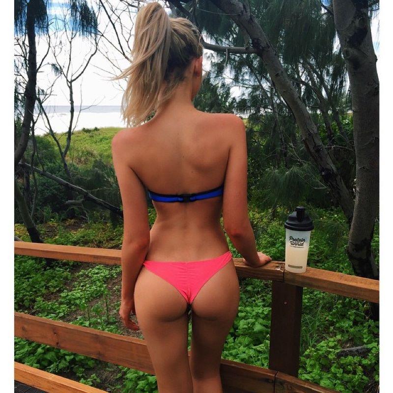 Hot girl perfect ass bikinis