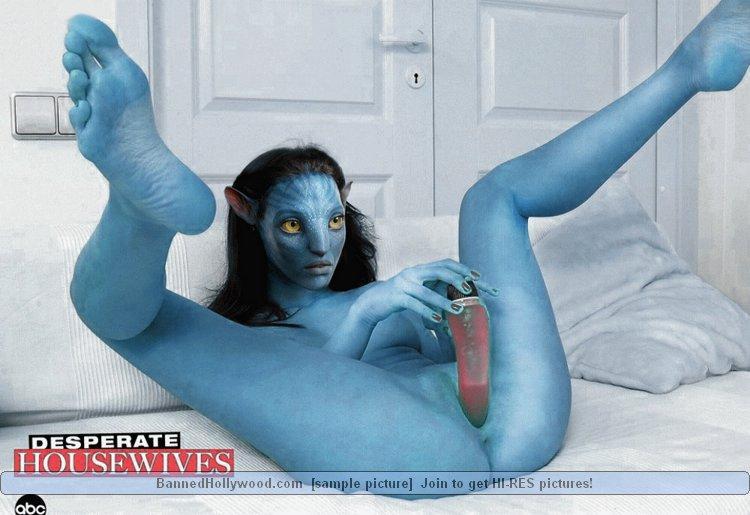 naked Sexy blue avatar