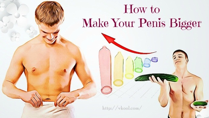 How to grow big penis