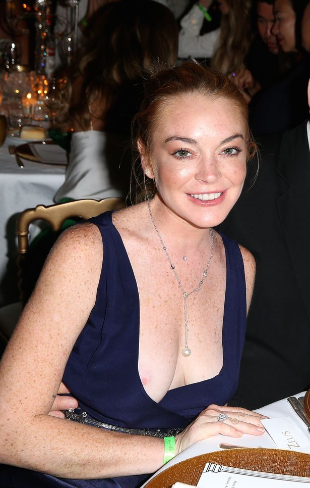 Lindsay lohan oops