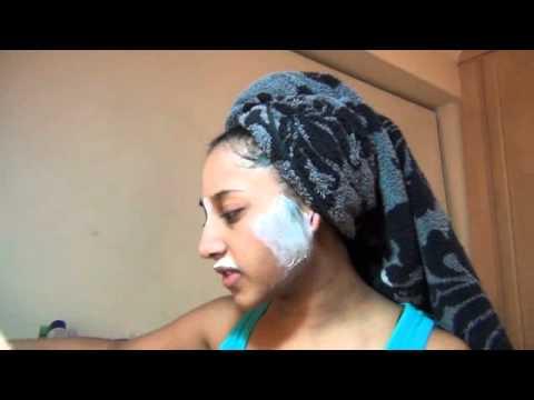 facial Indian girl