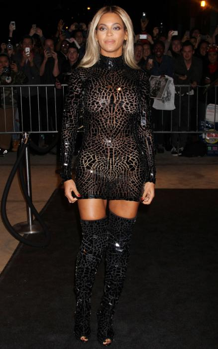 Beyonce knowles see through nipples