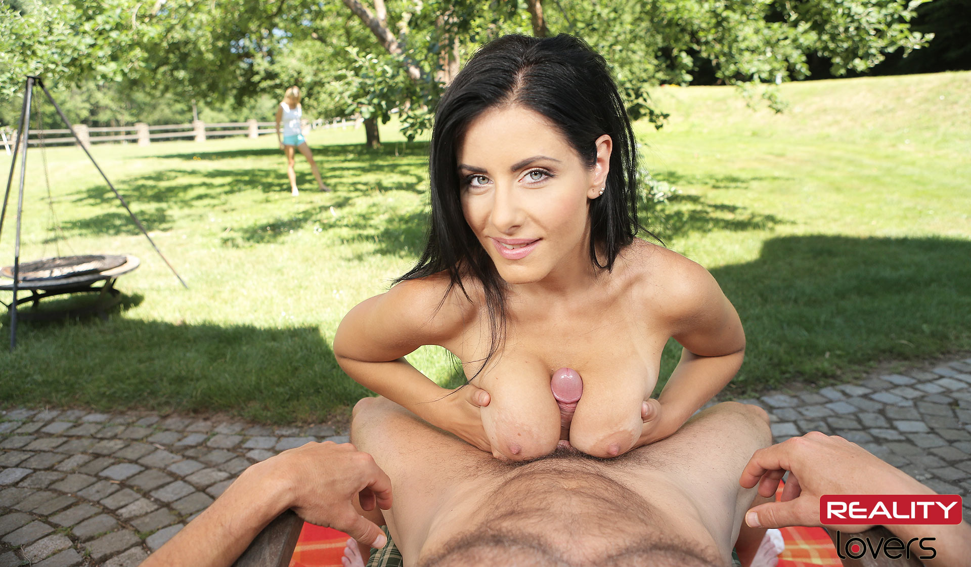 fucking Picnic threesome