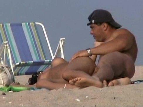 Gay fucking on nude beach
