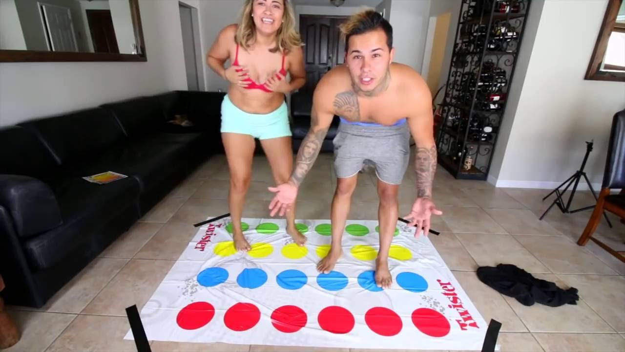 Guys strip beer pong