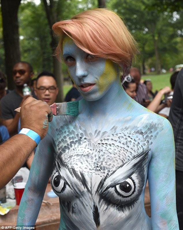 girls nude New york city
