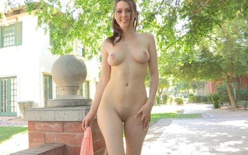 Meghan ftv nude in public