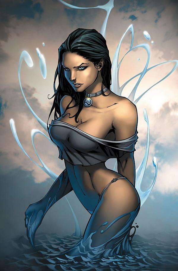 Comic book female characters porn