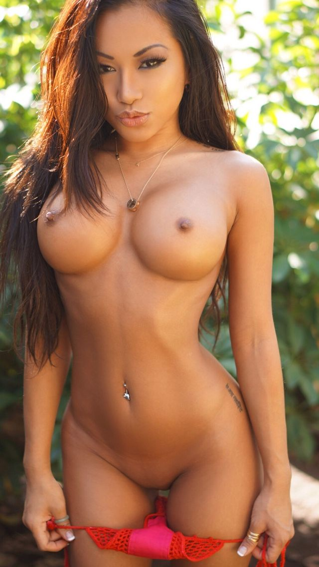 Natural nude woman looking very sexy