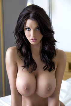 nice Brunette tits with