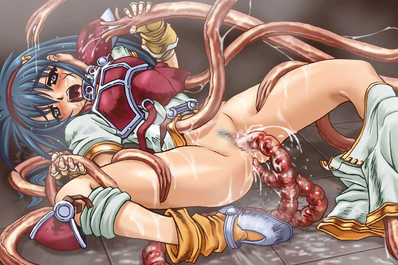 Anime tentacle monster sex