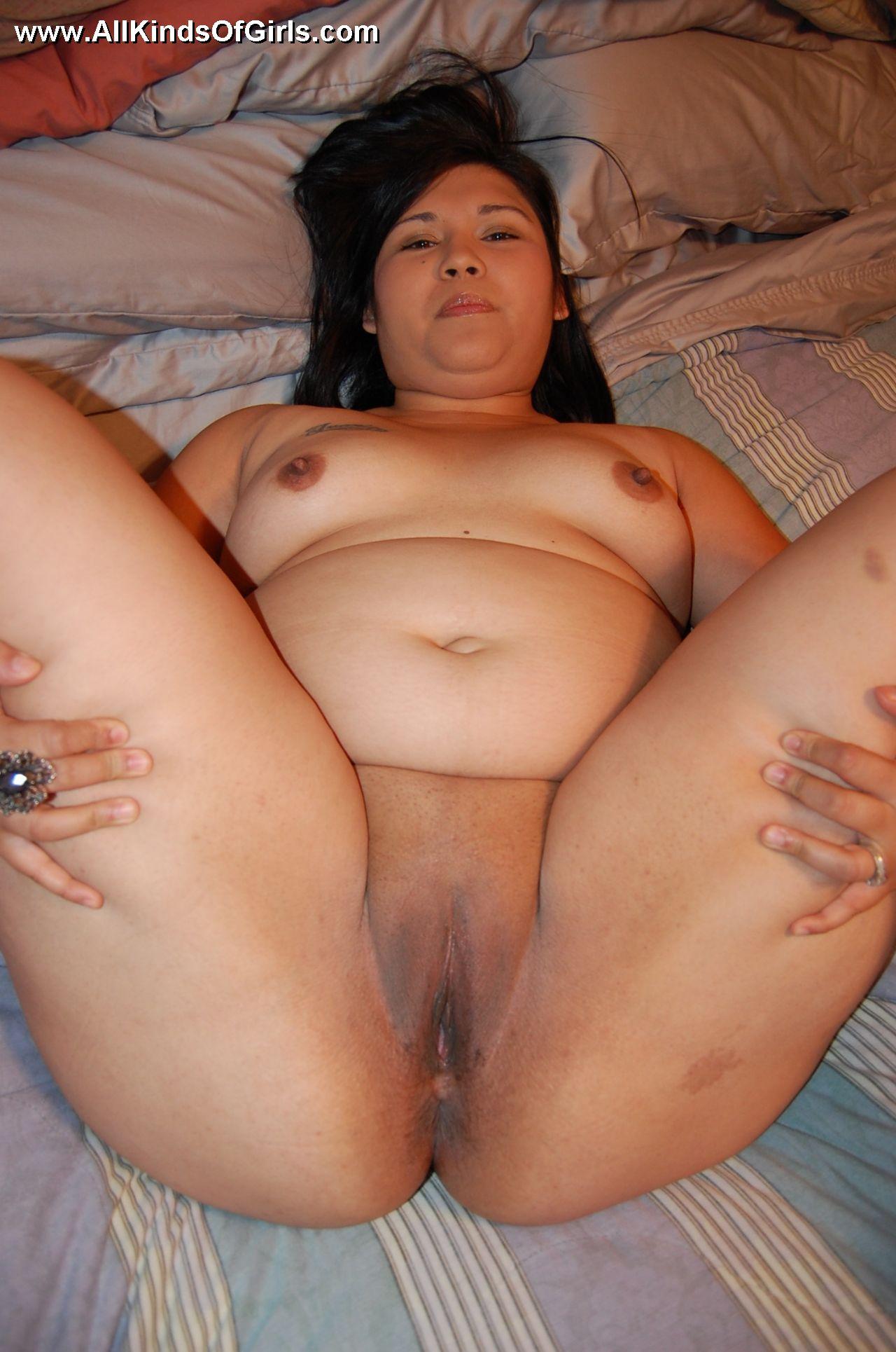 Asian bbw pussy spread
