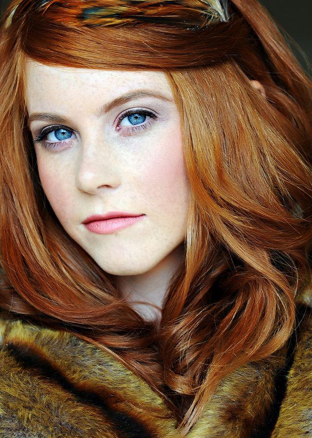 Red hair pale skin nude girls
