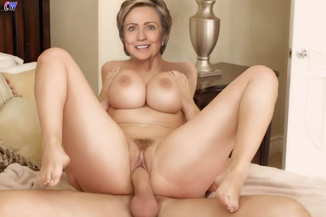 clinton fake nude sex Hillary