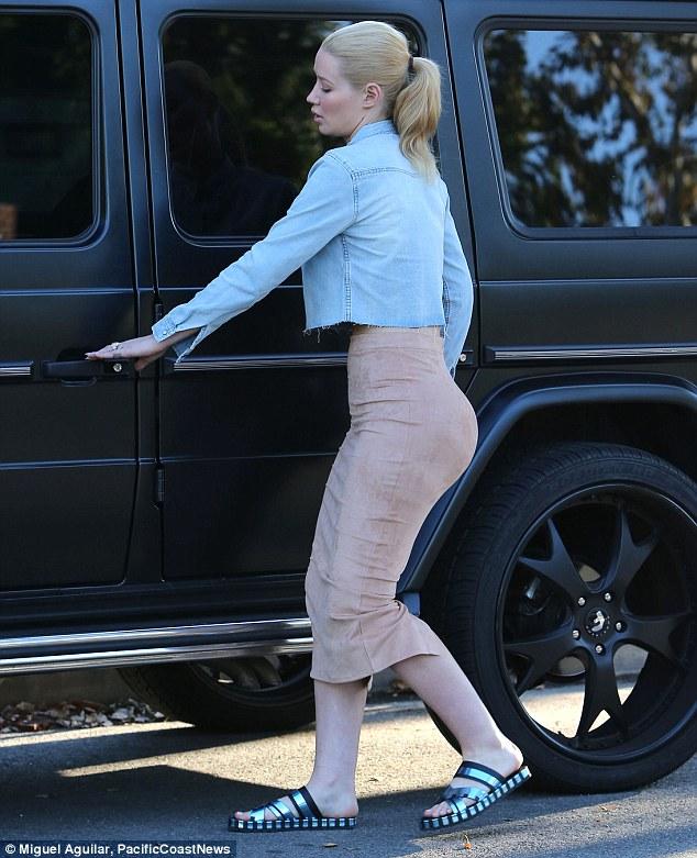 Her tight firm ass