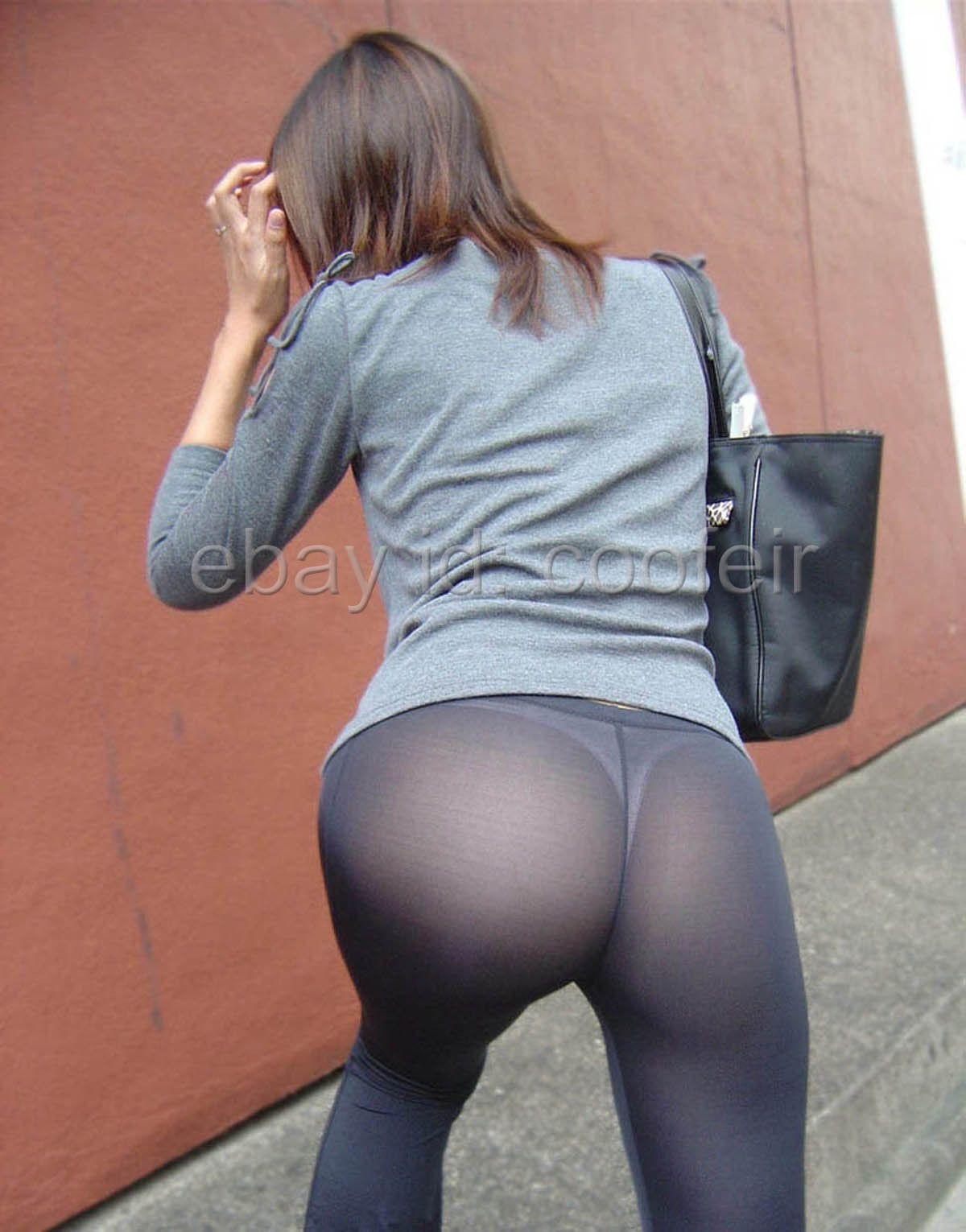 Tight ass yoga pants