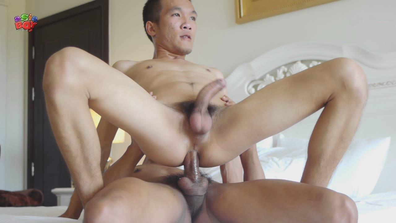 Gay asian creampie