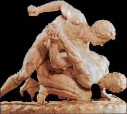 Ancient greek wrestling nude