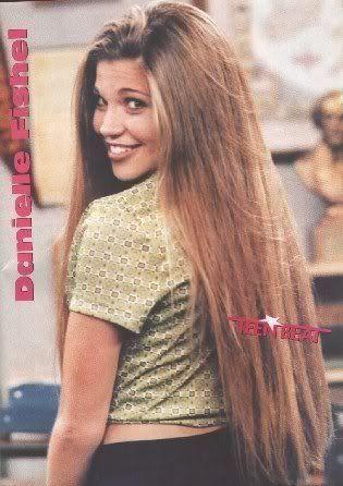 Danielle fishel topanga hair