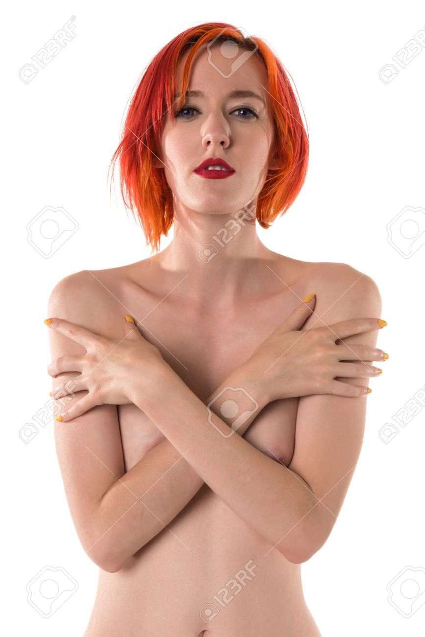 woman naked Red hair