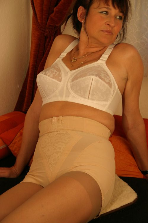 Mature panty girdle