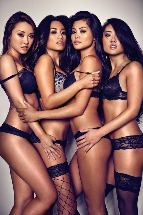Sexy asian girls group