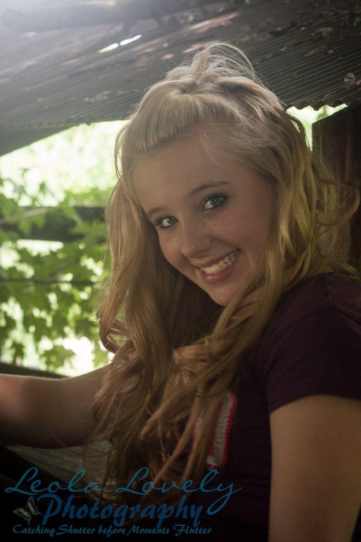 Cute adorable teen