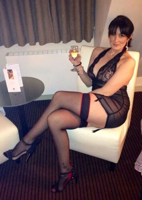 Black mature women stockings