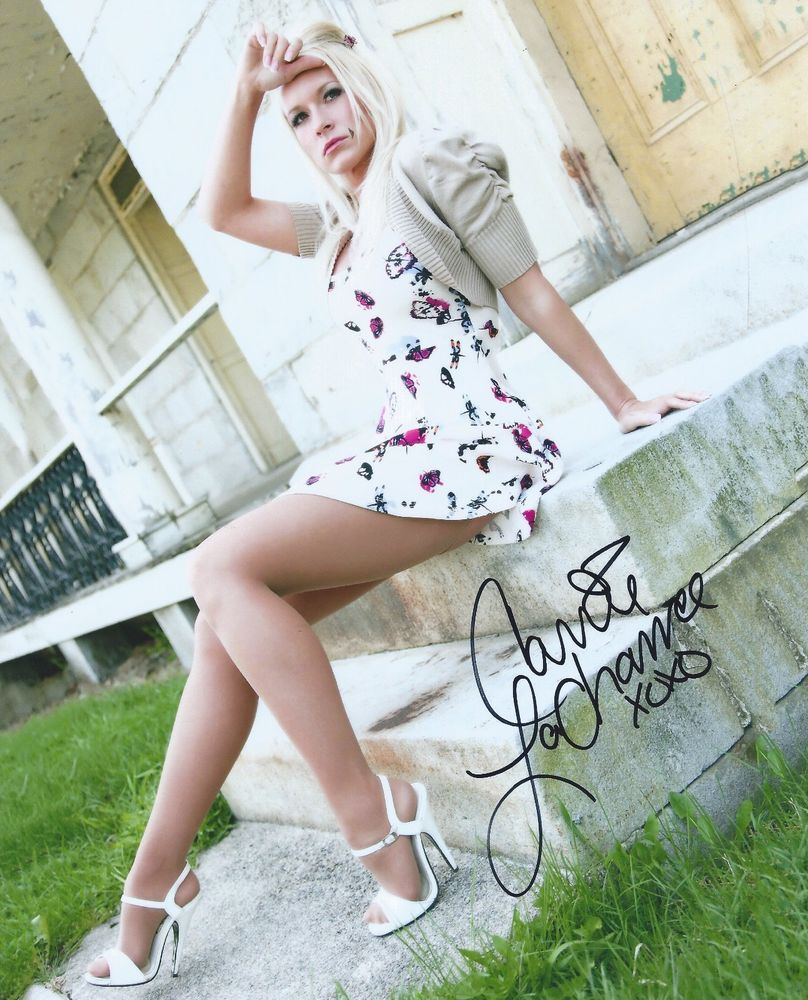 Autographed carrie lachance