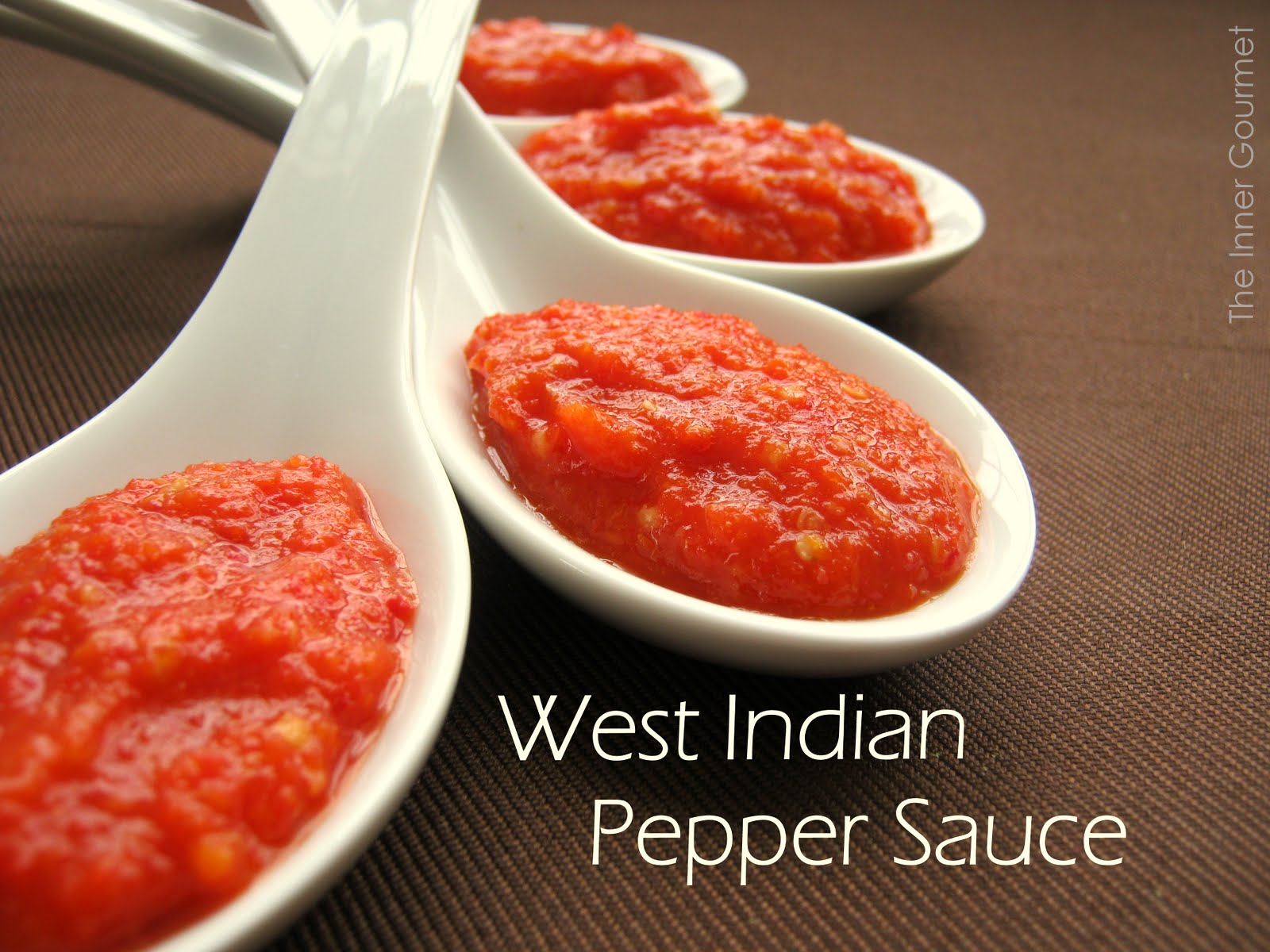 Hot pepper sauce recipe