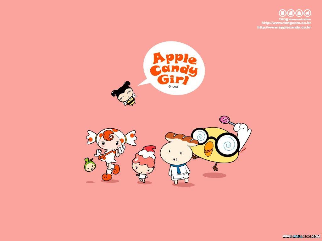 Candy apple girl