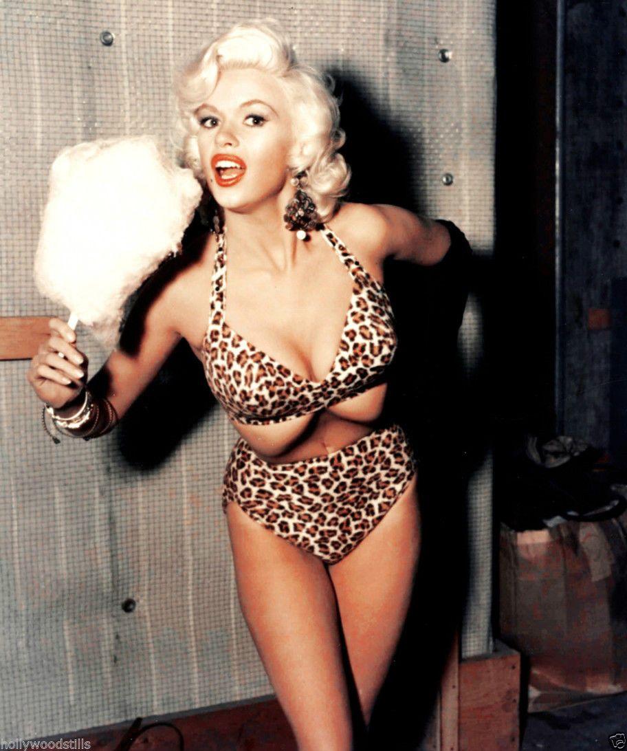 Leopard skin bikini