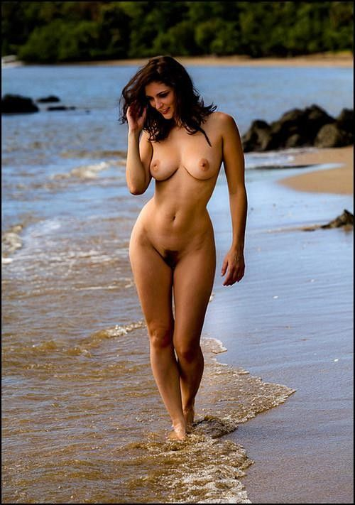 Beautiful nude women beach