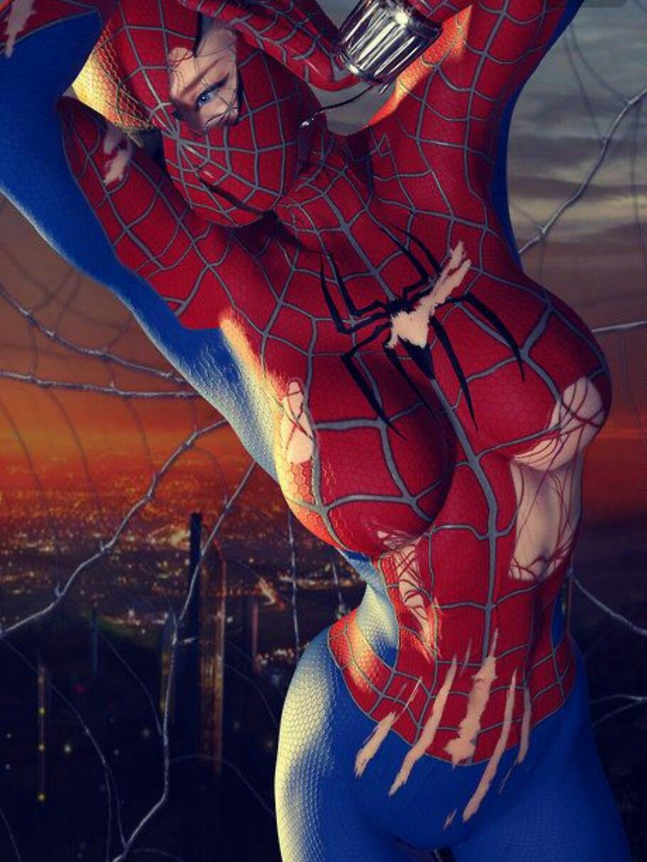 Sexy superhero cosplay porn