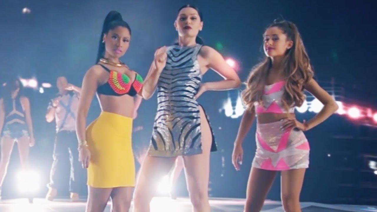 Ariana grande nicki minaj jessie j